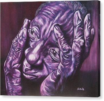Masseur Canvas Print by Shahid Muqaddim