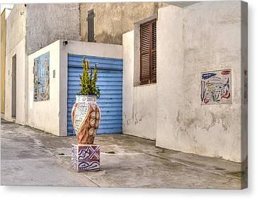 Sicily Canvas Print - Mazara Del Vallo - Sicily by Joana Kruse