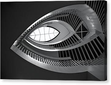 Mca Staircase Canvas Print