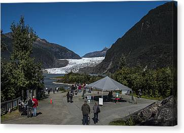 Mendenhall Glacier Canvas Print by Robin Williams