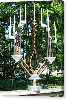 Menorah 2nd Canvas Print