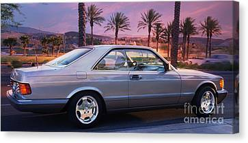 Mercedes 560sec Canvas Print