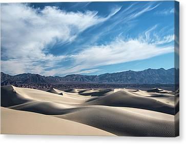 Mesquite Flat Dunes 1969 Canvas Print