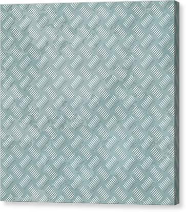 Metal Plate Texture Canvas Print
