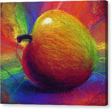 Food And Beverage Canvas Print - Metaphysical Apple by Kd Neeley
