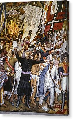 Dolores Canvas Print - Mexico: 1810 Revolution by Granger