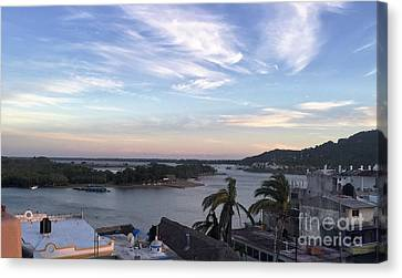Canvas Print featuring the photograph Mexico Memories by Victor K