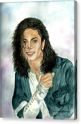 Michael Jackson - Will You Be There Canvas Print by Nicole Wang