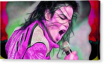 Jackson 5 Canvas Print - Michael Jackson Collection by Marvin Blaine