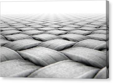 Micro Fabric Weave Canvas Print