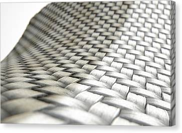 Braids Canvas Print - Micro Fabric Weave Comparison by Allan Swart