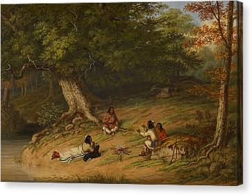Midday Rest Canvas Print
