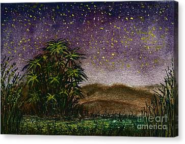 Midnight At The Oasis Canvas Print