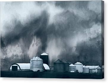 Midwest Farm Art  Canvas Print