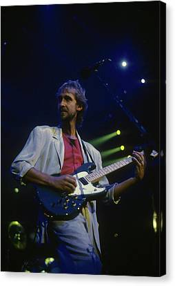 Mike Rutherford Canvas Print by Rich Fuscia