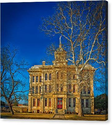Milam County Courthouse Canvas Print
