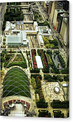 Millennium Park In Chicago Canvas Print