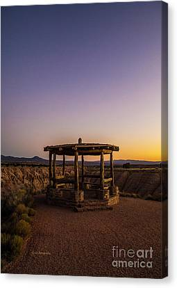 Cathedral Gorge Gazebo Canvas Print