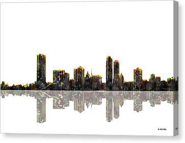 Milwaukee Wisconsin Skyline Canvas Print