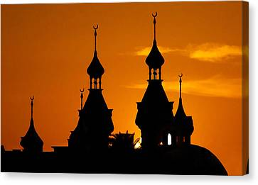 Minarets Over Tampa Canvas Print by David Lee Thompson
