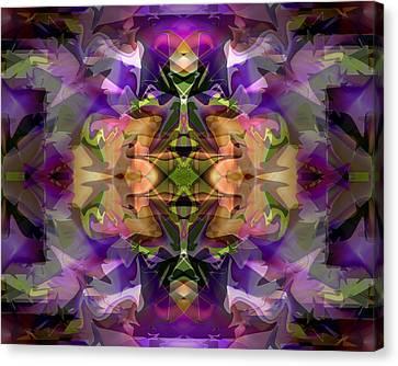 Canvas Print featuring the digital art Mind Portal by Lynda Lehmann