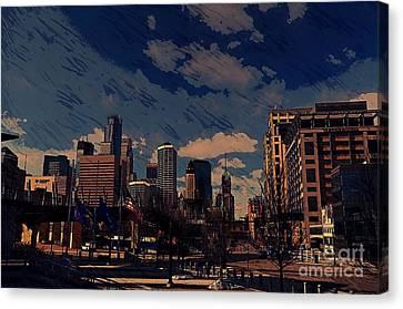 Minneapolis Downtown  Canvas Print