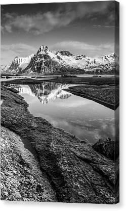 Mirror Canvas Print by Alex Conu