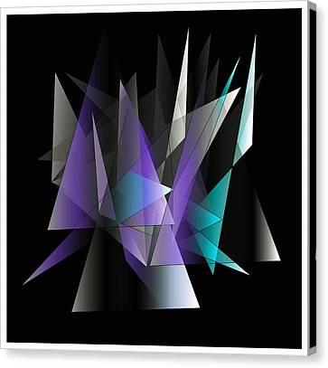 Modern 3 Canvas Print by Iris Gelbart