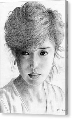 Momoe Yamaguchi Canvas Print by Eliza Lo