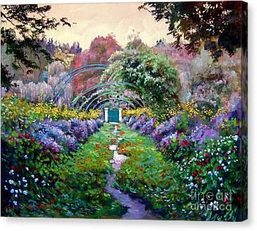Monet Canvas Print by David Lloyd Glover