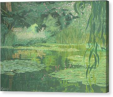 Monet's Lament Canvas Print