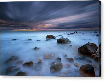 Montauk Mist Canvas Print by Rick Berk