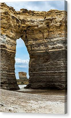 Monument Rocks Canvas Print by Jay Stockhaus