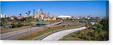 Morning, Minneapolis, Minnesota Canvas Print by Panoramic Images