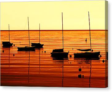 Morning Over Rockport Canvas Print by Todd Klassy
