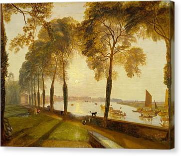 Mortlake Terrace Canvas Print by JMW Turner
