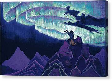 Moses The Leader Canvas Print by Nicholas Roerich