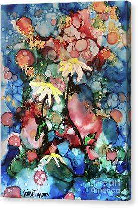 Canvas Print featuring the painting Mothers Day by Denise Tomasura