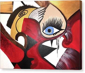 Motley Eye 2 Canvas Print