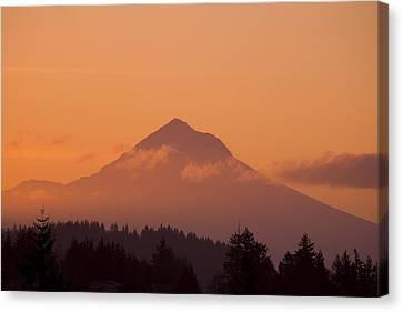 Mount Hood, Oregon, Usa Canvas Print by Craig Tuttle