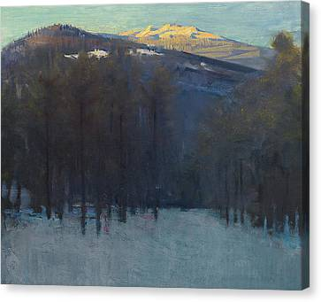 Terrain Canvas Print - Mount Monadnock by Abbott Handerson Thayer