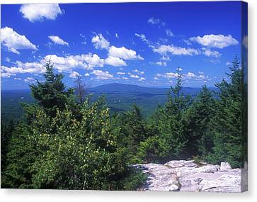 Mount Monadnock From Pack Monadnock Canvas Print by John Burk
