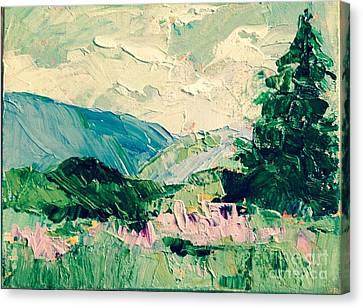 Mountain Spring Canvas Print