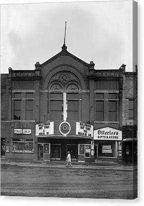 Movie Theaters, The G.f. Andrae Opera Canvas Print by Everett