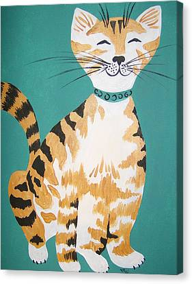 Mr. Tabby Canvas Print