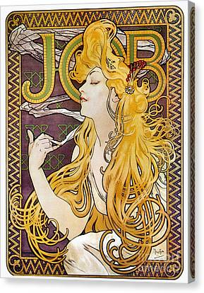 Mucha Canvas Print - Mucha: Cigarette Papers by Granger