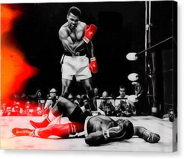 Muhammad Ali Art Canvas Print