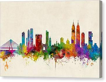 Mumbai Skyline India Bombay Canvas Print
