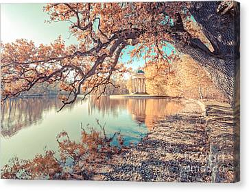Hannes Cmarits Canvas Print - Munich At Fall by Hannes Cmarits