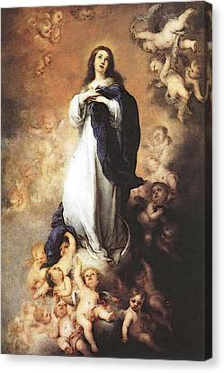 Murillo Immaculate Conception  Canvas Print